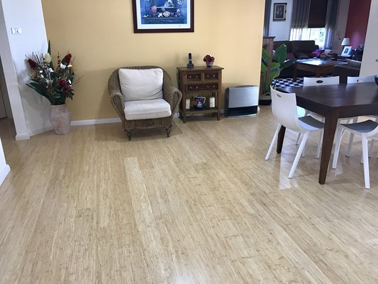 Elegance Strand Woven Bamboo Floor Natural Colour
