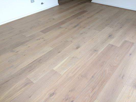 French Oak Floors - Lime Wash Color