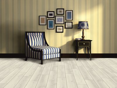 10mm Laminate Floor Contemporary Current Oak